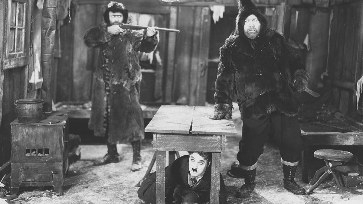 #57) The Gold Rush - (1925 - dir. Charles Chaplin)