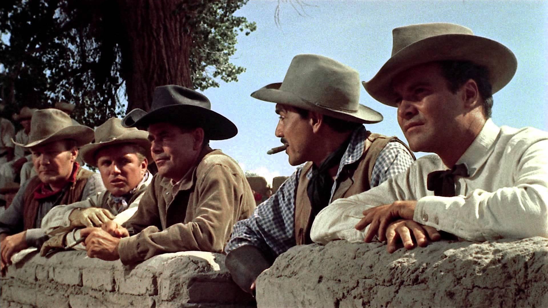#70) Cowboy - (1958 - dir. Delmer Daves)
