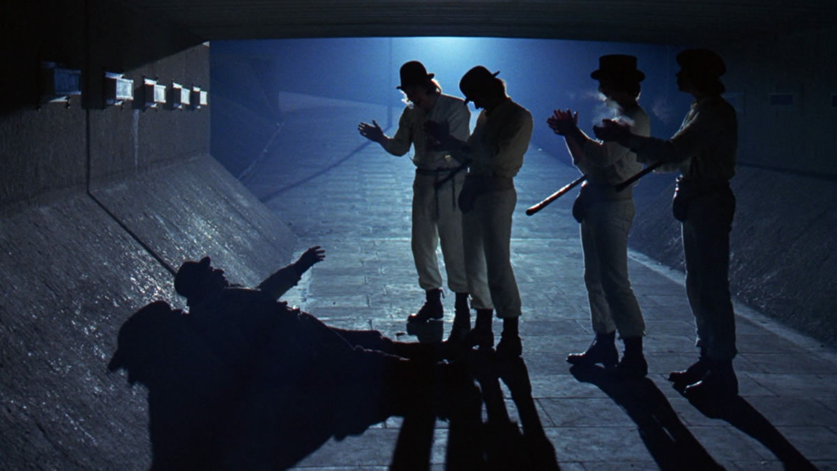 #4) A Clockwork Orange - (1971 - dir. Stanley Kubrick)