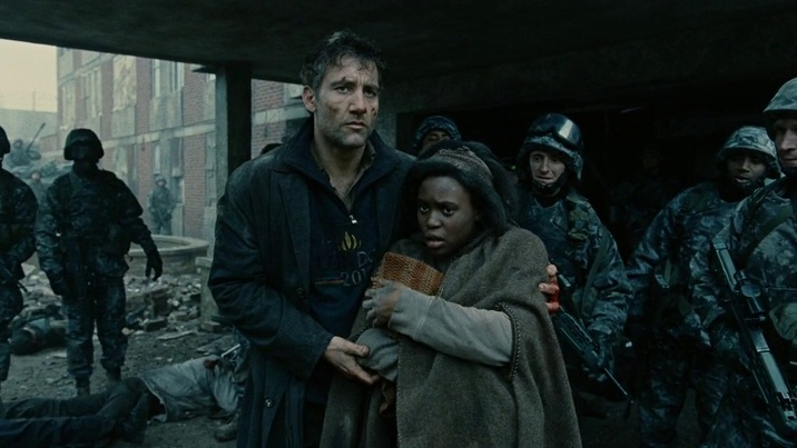 #6) Children of Men - (2006 - dir. Alfonso Cuarón)