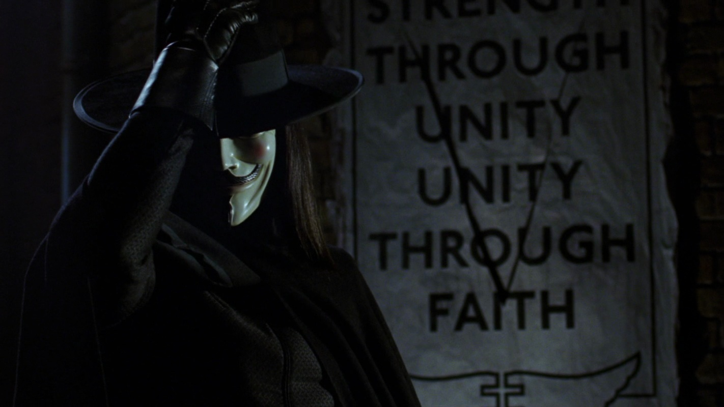 #14) V for Vendetta - (2005 - dir. James McTeigue)