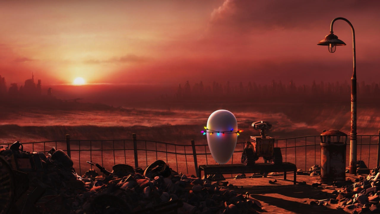 #18) WALL-E - (2008 - dir. Andrew Stanton)