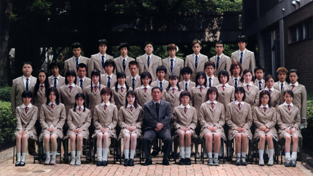 #27) Battle Royale - (2000 - dir. Kinji Fukasaku)