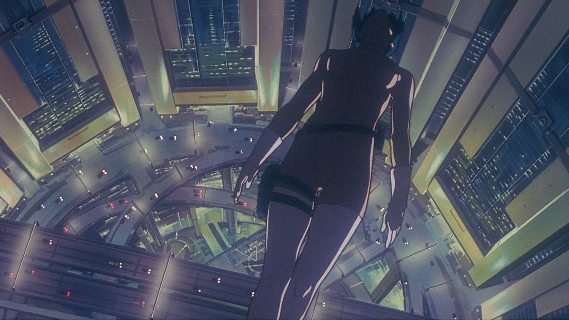 #34) Ghost in the Shell - (1995 - dir. Mamoru Oshii)