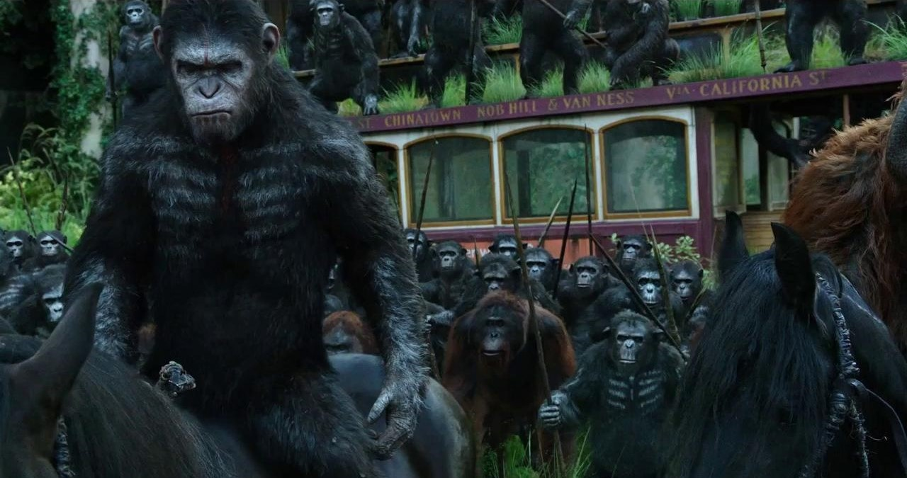 #70) Dawn of the Planet of the Apes - (2014 - dir. Matt Reeves)