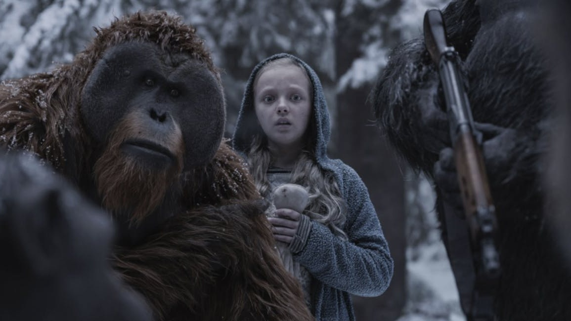 #72) War for the Planet of the Apes - (2017 - dir. Matt Reeves)