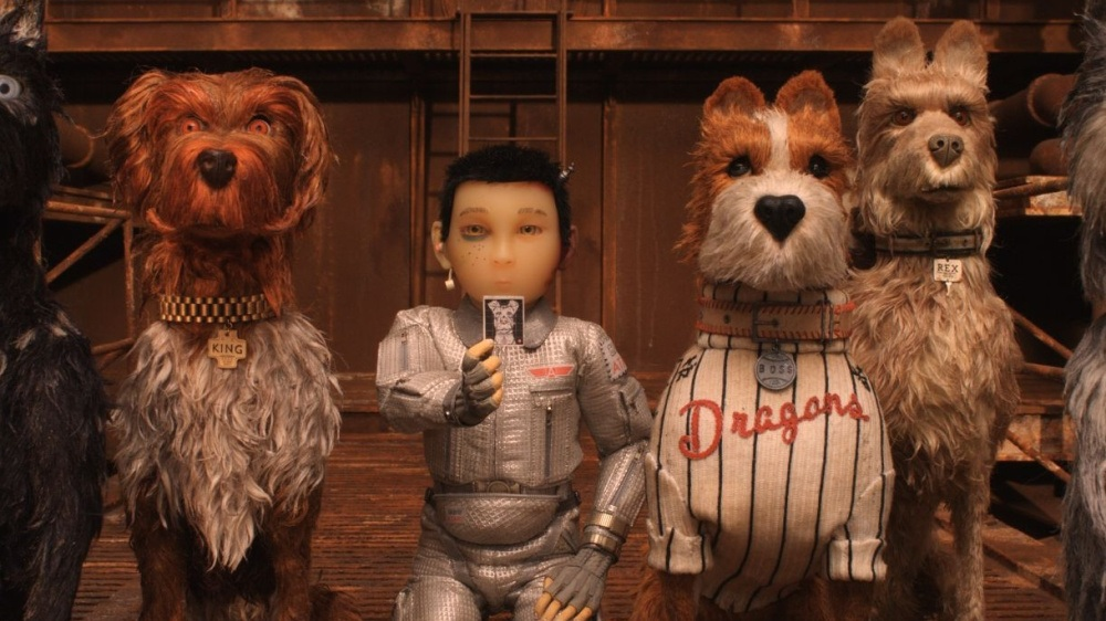 #73) Isle of Dogs - (2018 - dir. Wes Anderson)