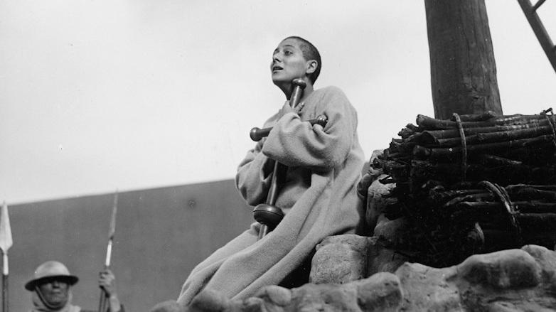 #1) Le passion de Jeanne d'Arc - (1928 - dir. Carl Theodor Dreyer)