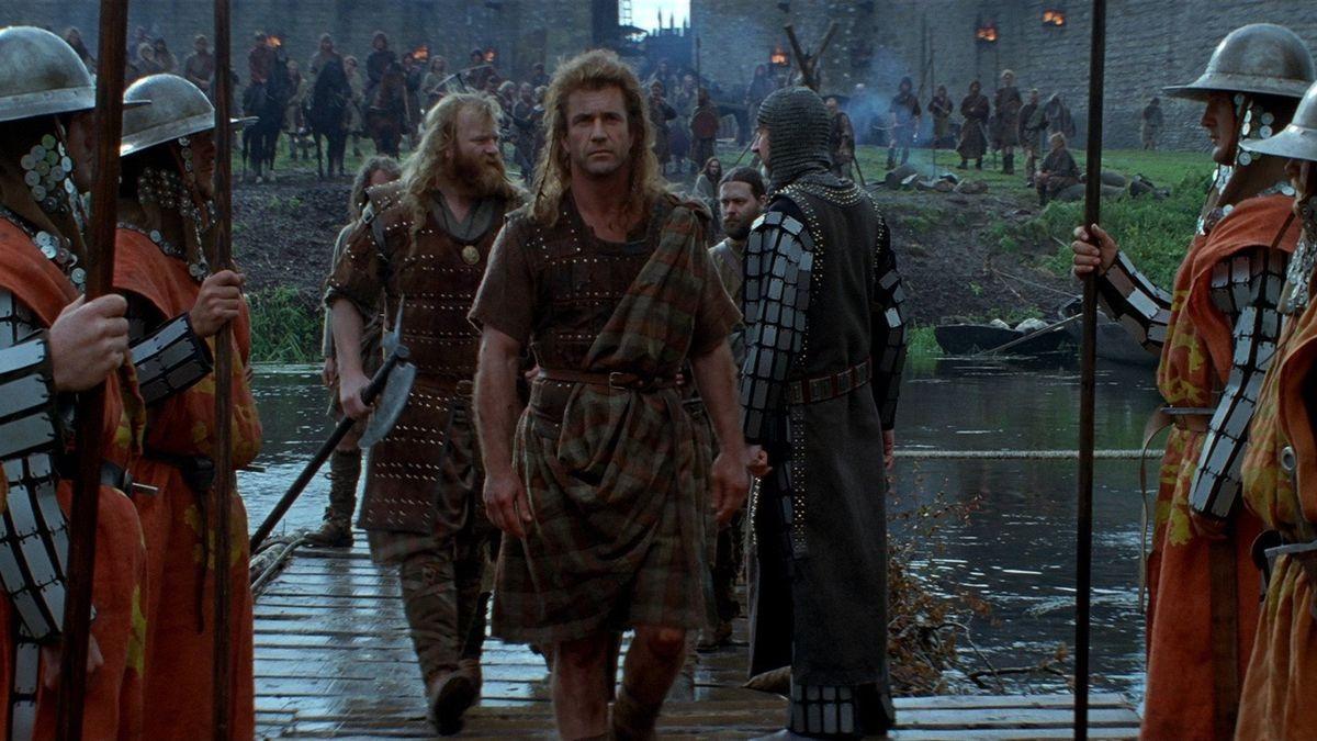 #3) Braveheart - (1995 - dir. Mel Gibson)