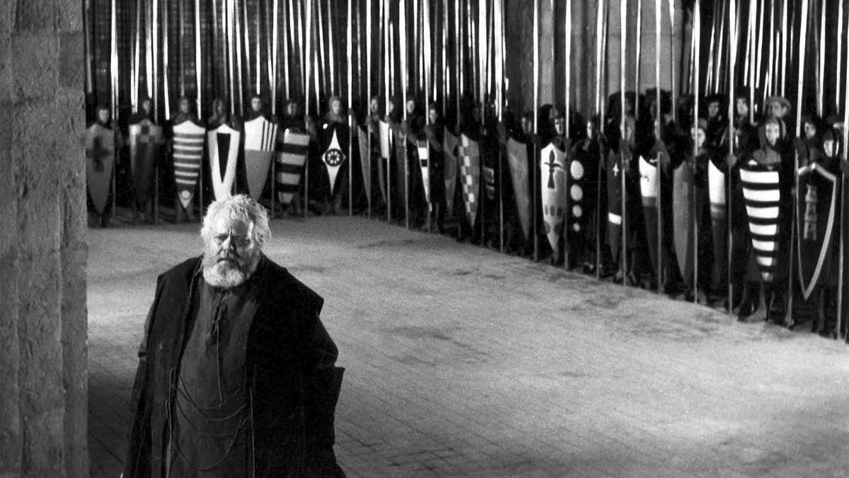 #4) Chimes at Midnight - (dir. 1965 - dir. Orson Welles)