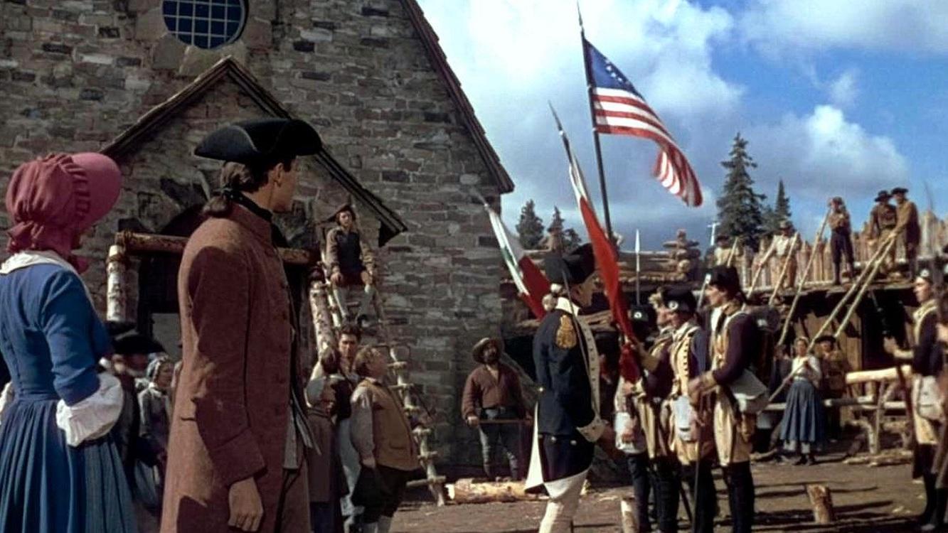 #1) Drums Along the Mohawk - (1939 - dir. John Ford)