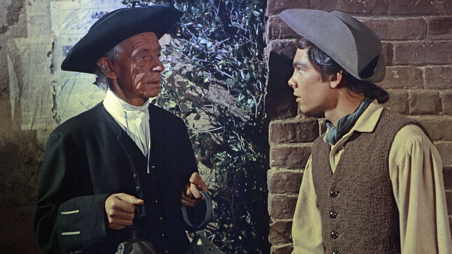 #2) Johnny Tremain - (1957 - dir. Robert Stevenson)