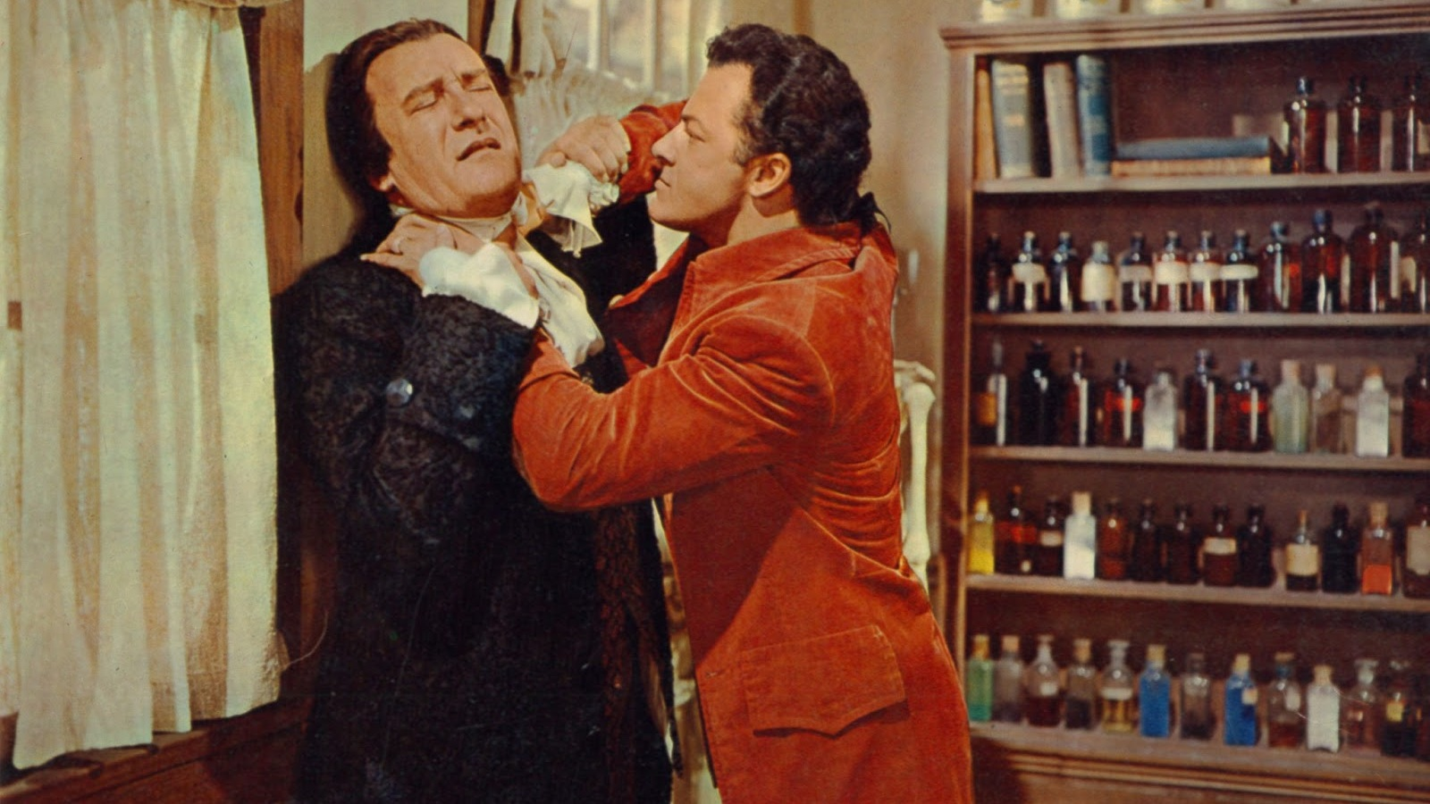 #4) The Scarlet Coat - (1955 - dir. John Sturges)