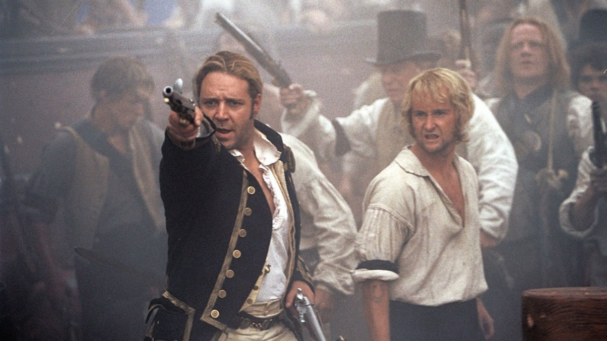 #1) Master and Commander: The Far Side of the World - (2003 - dir. Peter Weir)