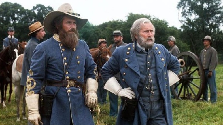#5) Gettysburg - (1993 - dir. Ronald F. Maxwell)