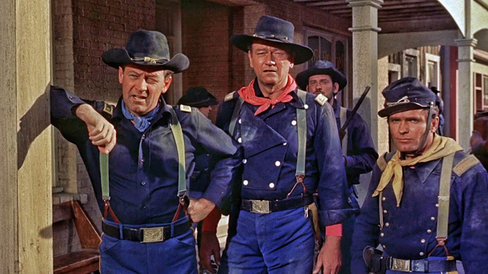 #9) The Horse Soldiers - (1959 - dir. John Ford)