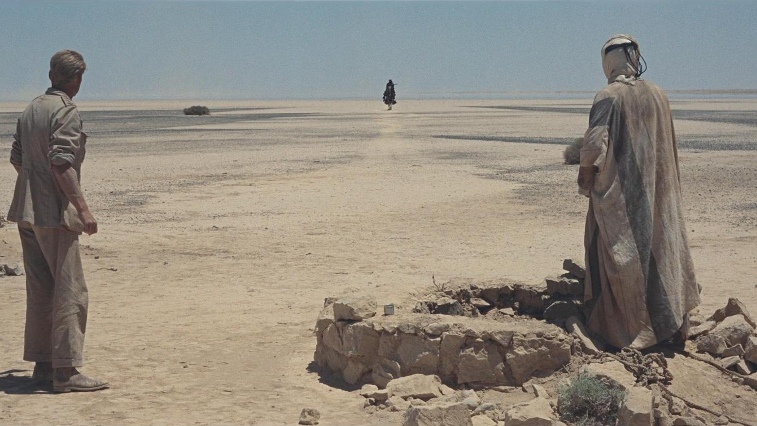 #1) Lawrence of Arabia - (1962 - dir. David Lean)