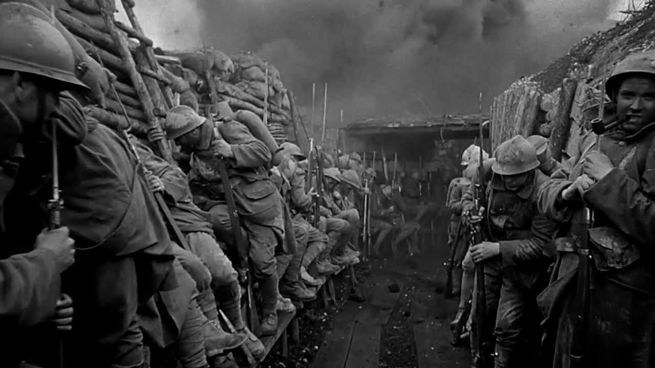 #2) Paths of Glory - (1957 - dir. Stanley Kubrick)