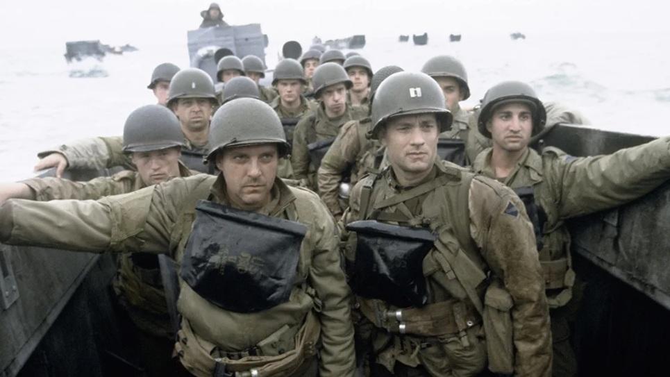 #1) Saving Private Ryan - (1998 - dir. Steven Spielberg)