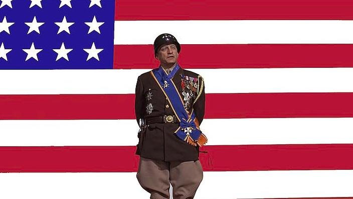 #8) Patton - (1970 - dir. Franklin J. Schaffner)