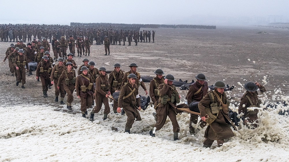 #9) Dunkirk - (2018 - dir. Christopher Nolan)