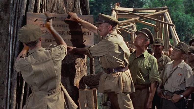 #1) The Bridge on the River Kwai - (1957 - dir. David Lean)