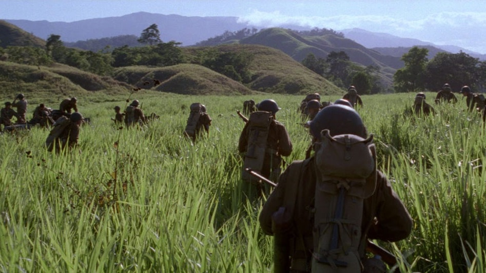 #2) The Thin Red Line - (1998 - dir. Terence Malick)