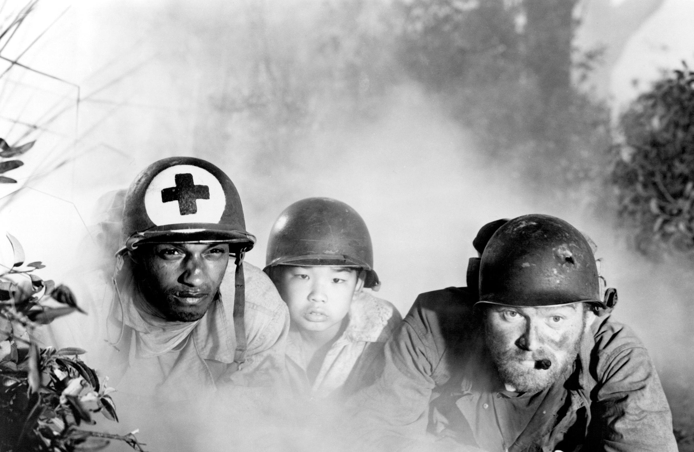 #3) The Steel Helmet - (1951 - dir. Samuel Fuller)