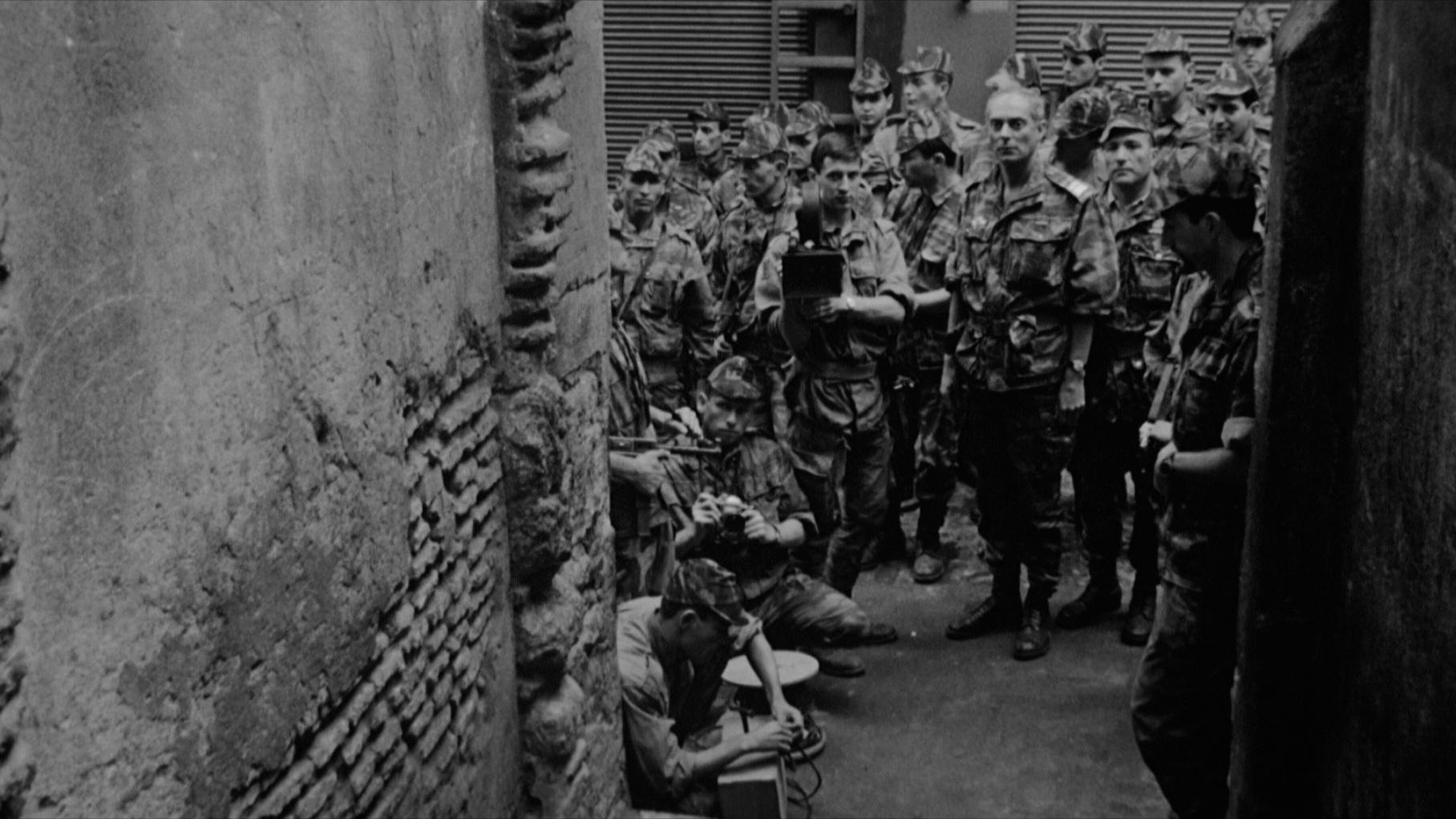 #1) The Battle of Algiers - (1966 - dir. Gillo Pontecorvo)