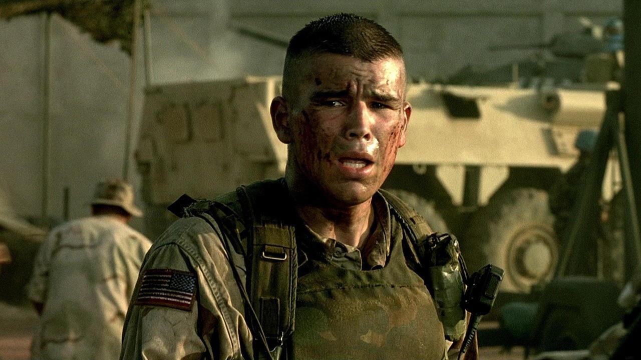#5) Black Hawk Down - (2001 - dir. Ridley Scott)