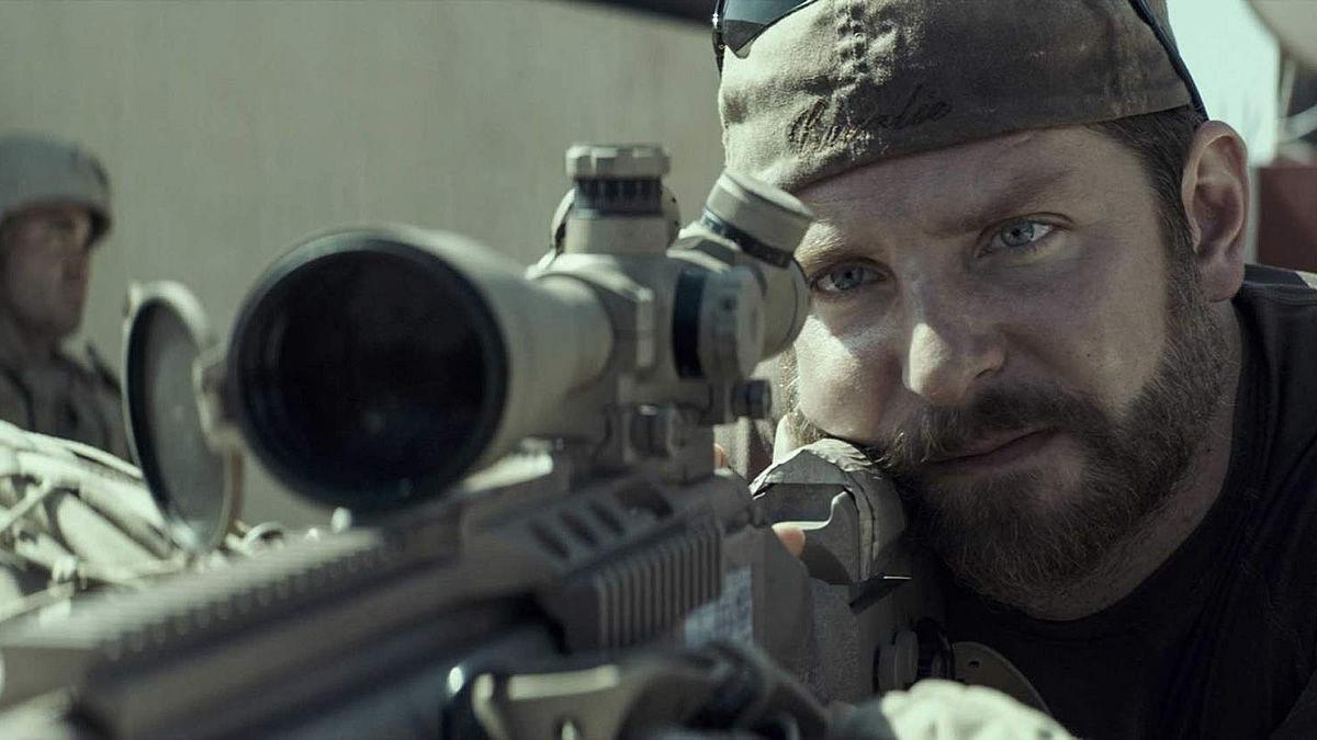 #3) American Sniper - (2014 - dir. Clint Eastwood)