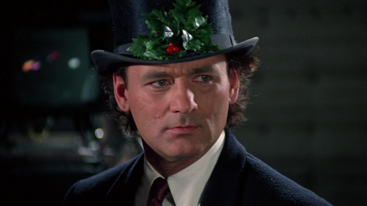 #10) Scrooged - (1988 - dir. Richard Donner)
