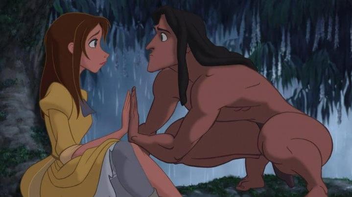 #23) Tarzan - (1999 - dir. Kevin Lima, Chris Buck)