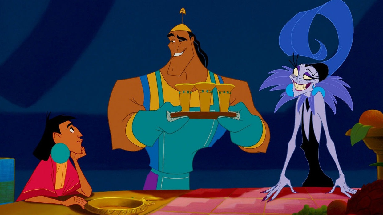 #26) The Emperor's New Groove - (2000 - dir. Mark Dindal)