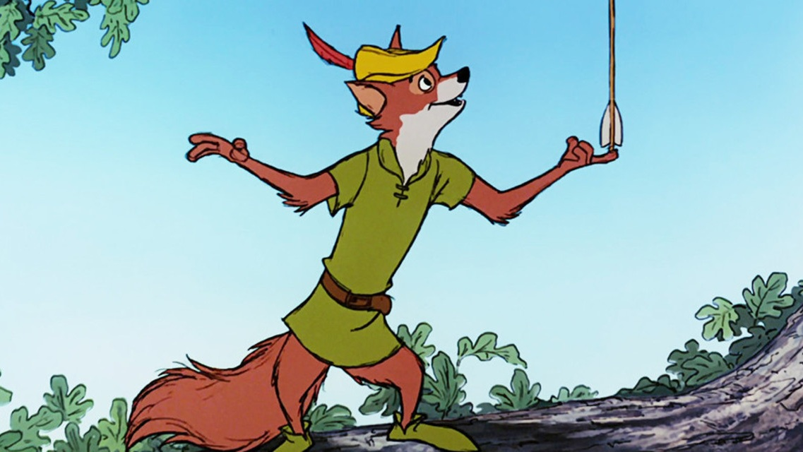 #33) Robin Hood - (1973 - dir. Wolfgang Reitherman)