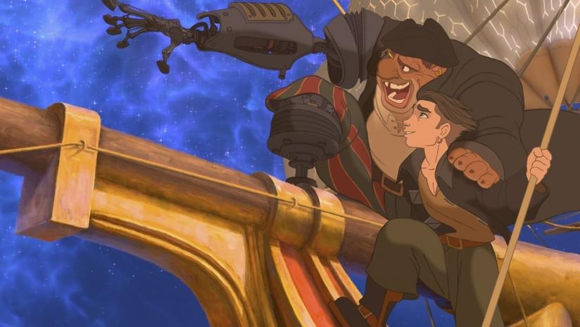 #34) Treasure Planet - (2002 - dir. Ron Clements, John Musker)
