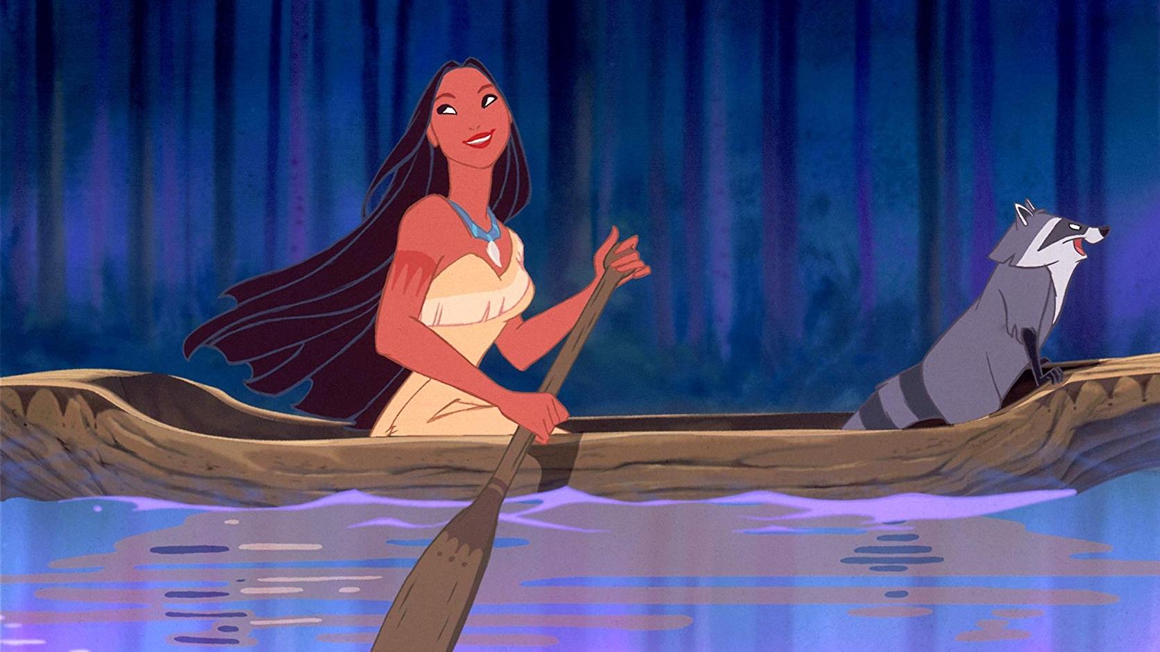 #35) Pocahontas - (1995 - dir. Mike Gabriel, Eric Goldberg)