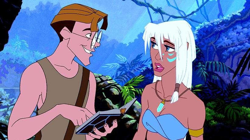 #41) Atlantis: The Lost Empire - (2001 - dir. Gary Trousdale, Kirk Wise)