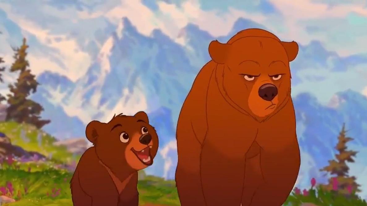 #42) Brother Bear - (2003 - dir. Aaron Blaise, Robert Walker)