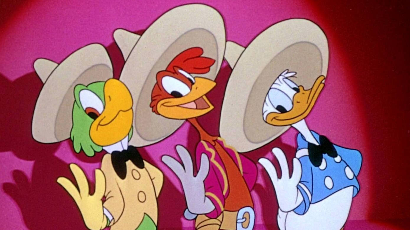 #47) The Three Caballeros - (1944 - dir. Norman Ferguson, Clyde Geronimi, Jack Kinney, Bill Roberts, Harold Young)