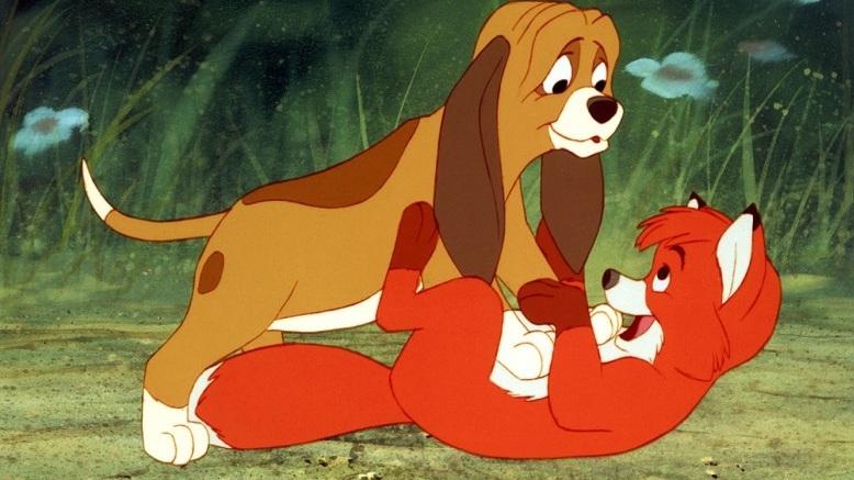 #48) The Fox and the Hound - (1981 - dir. Ted Berman, Richard Rich, Art Stevens)