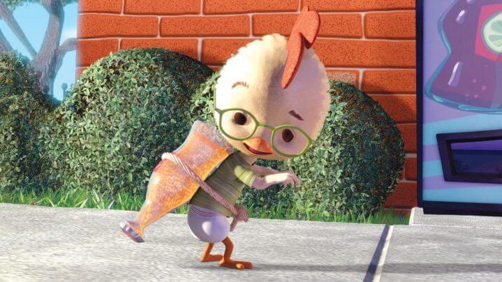 #50) Chicken Little - (2005 - dir. Mark Dindal)