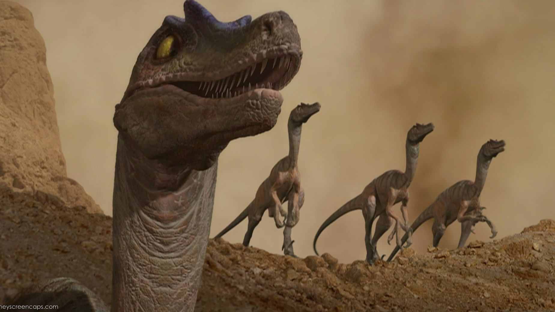 #56) Dinosaur - (2000 - dir. Ralph Zondag, Eric Leighton)