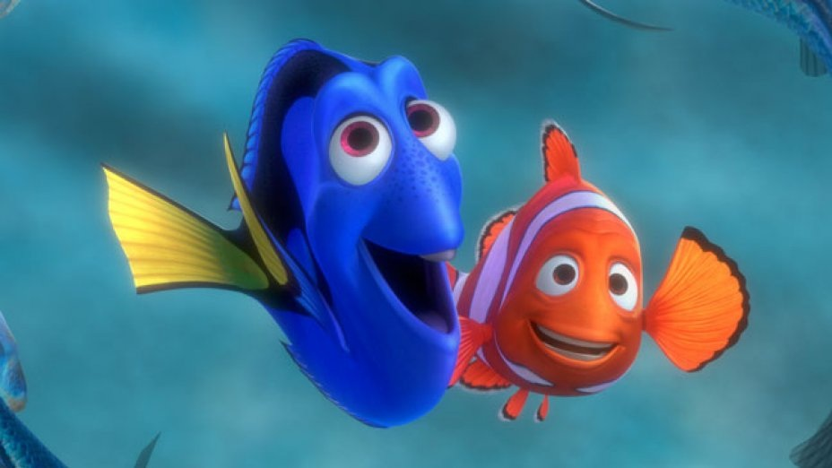 #1) Finding Nemo - (2003 - dir. Andrew Stanton)