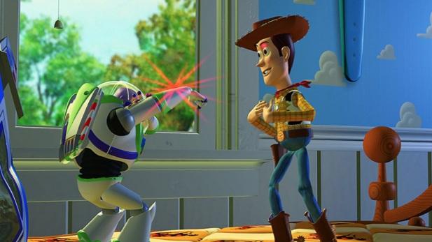 #3) Toy Story - (1995 - dir. John Lasseter)