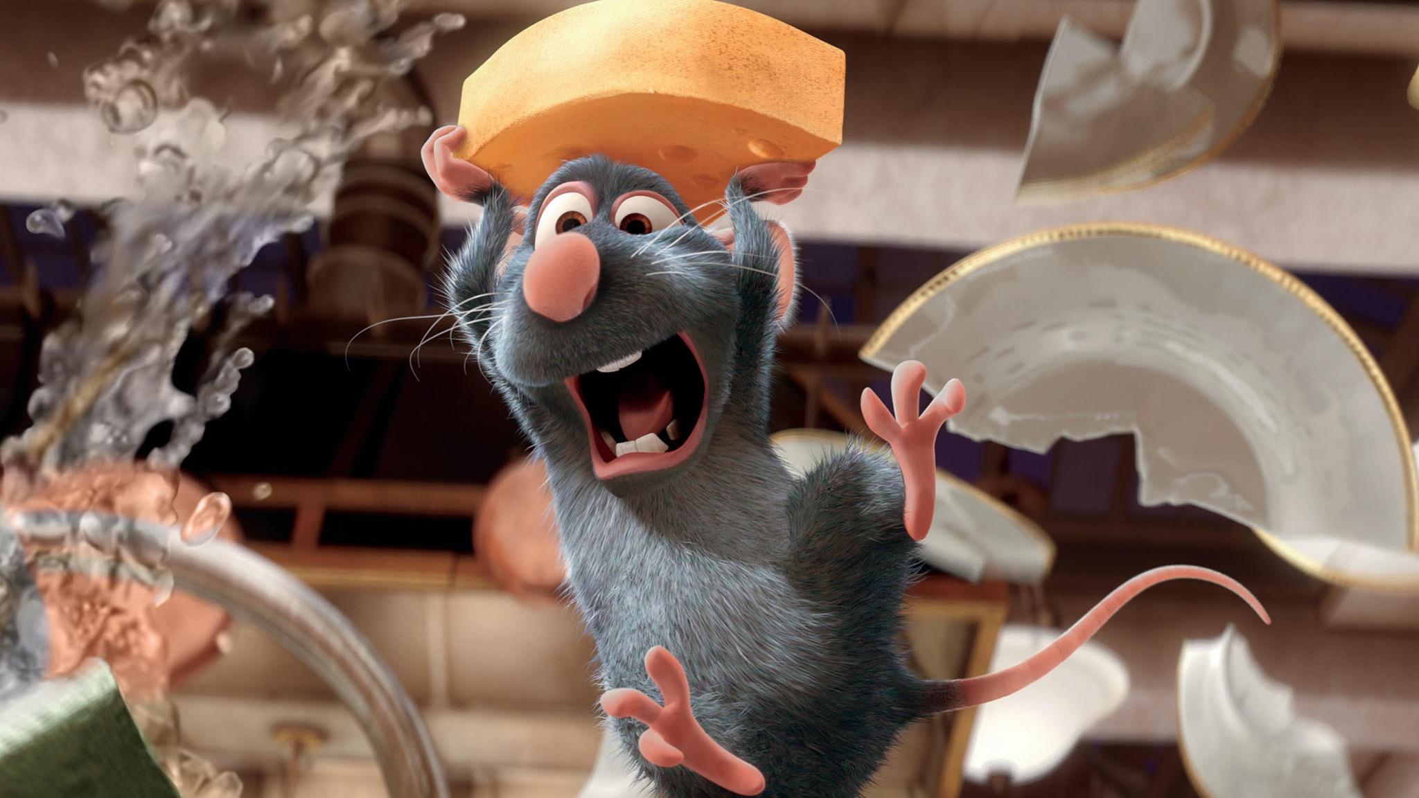 #5) Ratatouille - (2007 - dir. Brad Bird)