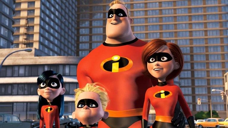 #6) The Incredibles - (2004 - dir. Brad Bird)