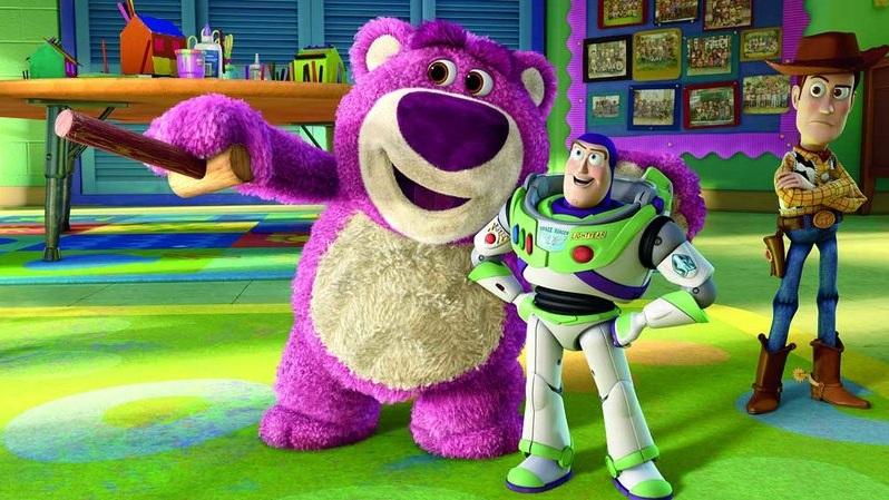 #7) Toy Story 3 - (2010 - dir. Lee Unkrich)