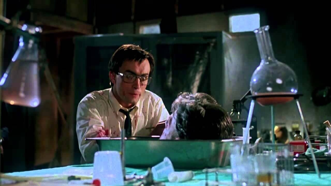 #38) Re-Animator - (1985 - dir. Stuart Gordon)