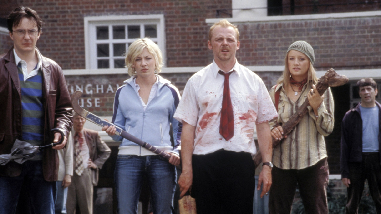 #22) Shaun of the Dead - (2004 - dir. Edgar Wright)
